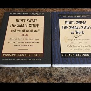 Books- Don't Sweat The Small Stuff